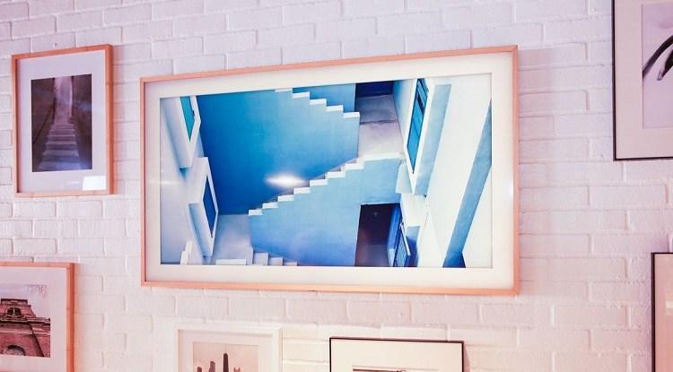 تلفاز سامسونج الجديد عبارة عن لوحة حائط فنية مذهلة