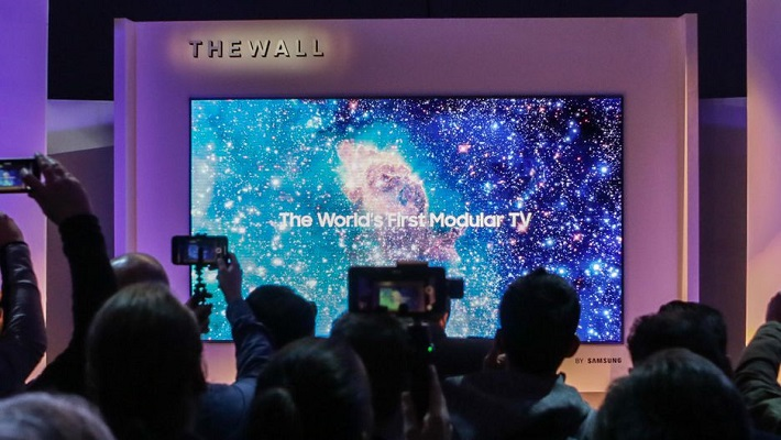 تلفاز Samsung The Wall بقياس 146 إنش