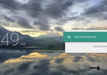 جوجل تعلن عن تطبيق جديد بتقنية HD تطبيق Meet دردشة الفيديو