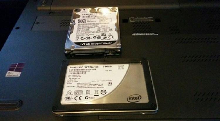 خطوة بخطوة قم بتغيير وتبديل قرص HDD على الحاسب المحمول إلى SSD