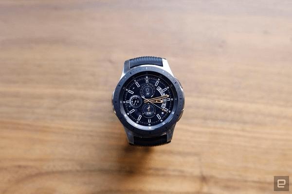 ساعة جالاكسي الجديدة