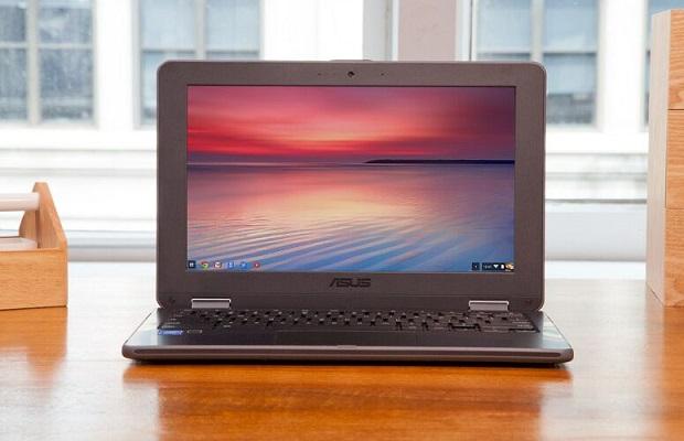 شاشة حاسب أسوس Chromebook Flip C213SAوالفأرة