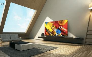 شياومي تقدم تلفاز Mi TV 4 بسماكة 4.9 ملم فقط وواجهة أندرويد