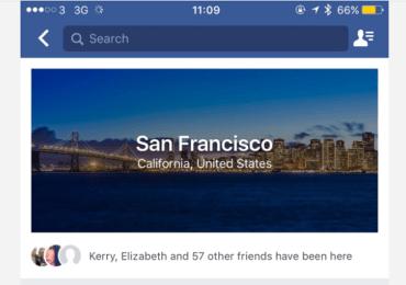 فيسبوك يضيف ميزة أدلة المدينة City Guides ليصبح رفيقاً لك في سفرك