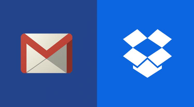 إضافة DropBox في خدمة جيميل Gmail