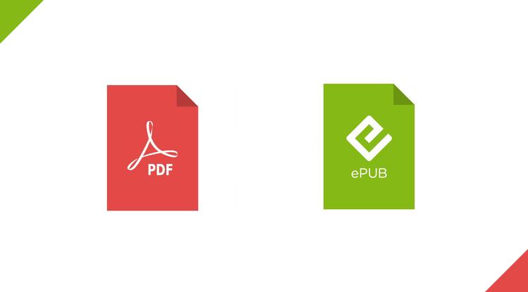 تحويل ملف PDF إلى EPUB