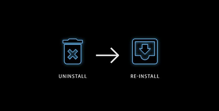 حذف أو إصلاح برنامج