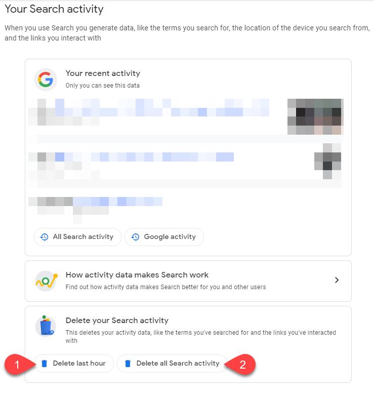 كيفية عمليات البحث السابقة محرك كيفية-حذف-ع