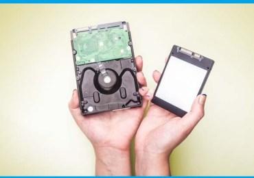 كيف أختار قرص التخزين الأفضل لحاسبي HDD أم SSD وما هي أنواع SSD (الجزء 1)