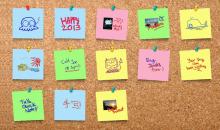 كيف تأخذ نسخة احتياطية من الملاحظات الملصقة Sticky Notes