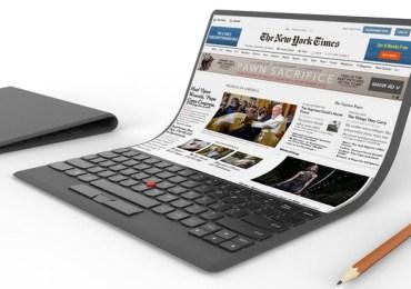لينوفو تكشف عن حاسب قابل للطي مذهل ThinkPad دون مفاصل