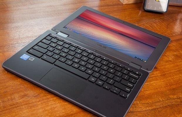 متانة حاسب أسوس Chromebook Flip C213SA