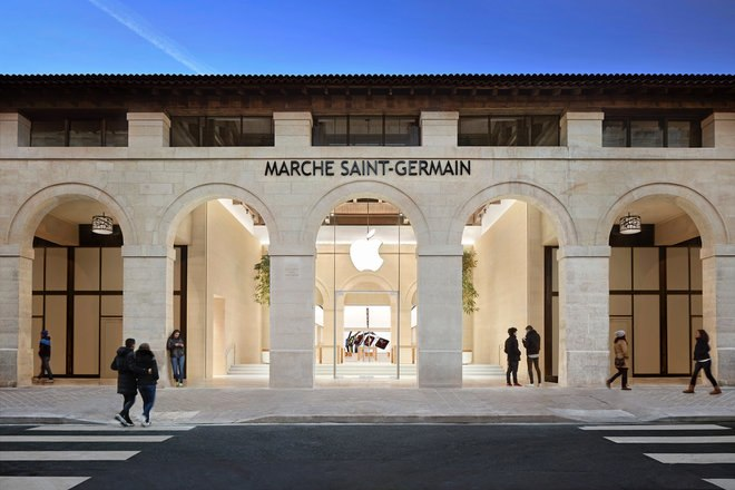 متجر Apple Marche Saint-Germain باريس