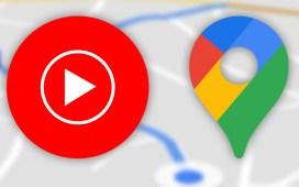 مشغل الموسيقى المدمج في خرائط جوجل