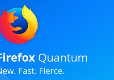 موزيلا تصدر متصفح فايرفوكس كوانتوم Firefox Quantum