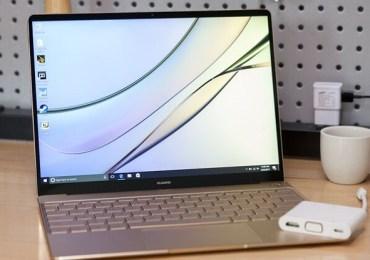 نظرة واسعة على حاسب هواوي MateBook X منافس آبل MacBook