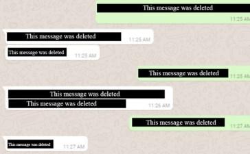 واتسآب يتيح ميزة حذف الرسائل المحرجة قبل أن يقوم الطرف الآخر بقراءتها