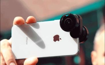 العدسات الخارجية لكاميرا الهاتف
