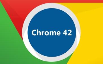 Google Chrome 42