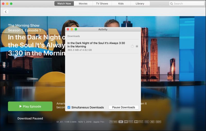 تحميل الأفلام والمسلسلات من +Apple TV