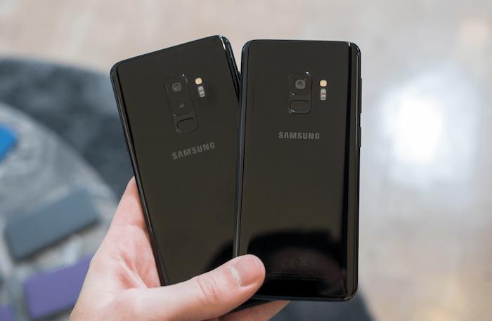 Galaxy S9 Galaxy S9 Plus Black Back