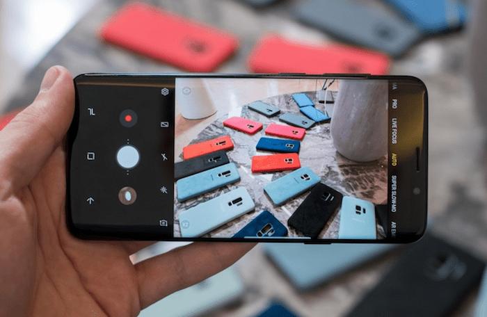 Galaxy S9 Plus Camera app