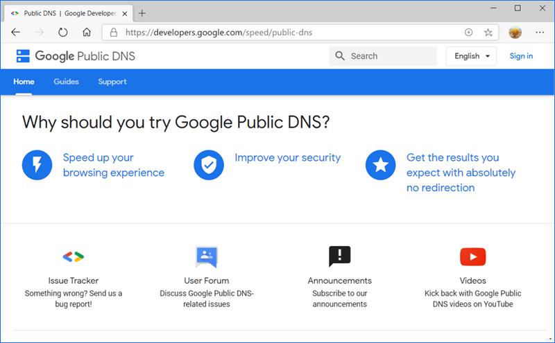 خدمات DNS