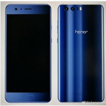 Honor 9 renders
