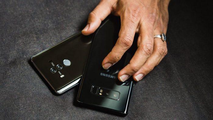 Huawei Mate 10 Pro vs Galaxy Note 8 Hardware