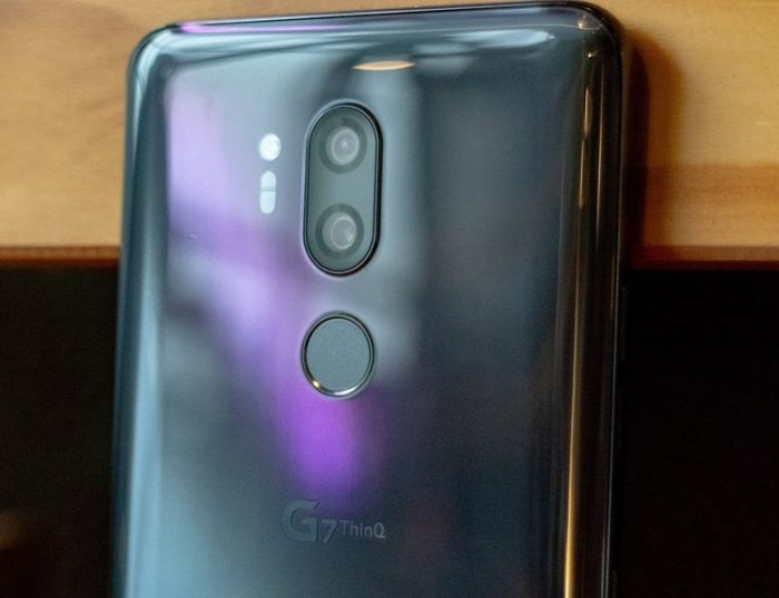 LG G7 ThinQ Camera
