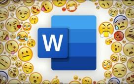 إضافة رموز تعبيرية في مستند Word