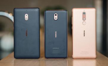 Nokia 5.1 Nokia 3.1 Nokia 2.1