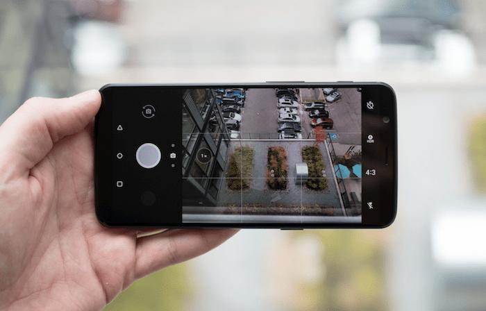 OnePlus 5T Camera app