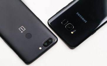 OnePlus 5T vs Galaxy S8+