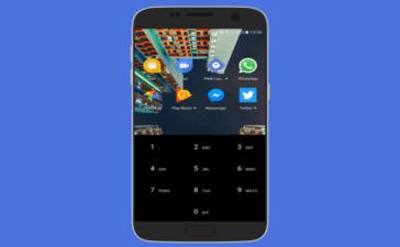 Peek Launcher app Android