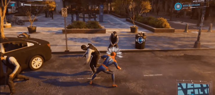 Spider-Man PS4 Battle