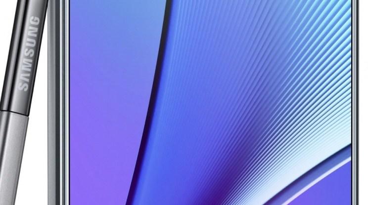 الآن يمكنك تحميل الخلفيات الرسمية لـ Samsung Galaxy Note 5 موقع