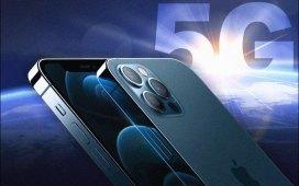 تقنية 5G في هواتف آيفون 12