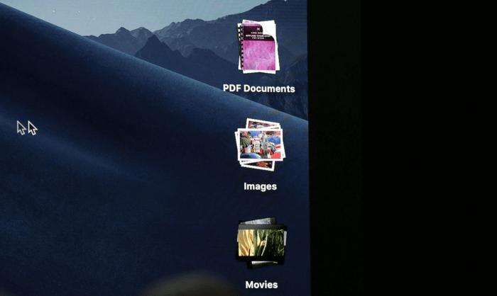 macOS Mojave Desktop Stacks