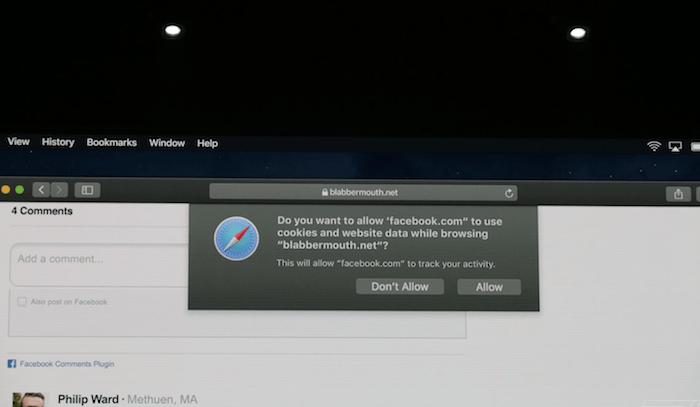macOS Mojave Safari Privacy