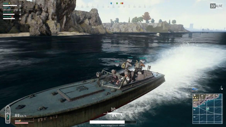 PUBG Boats