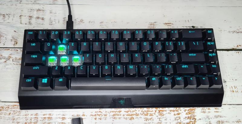 BlackWidow V3 Mini HyperSpeed