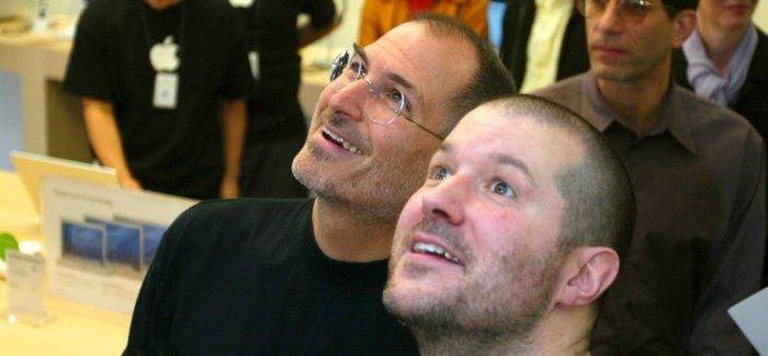Steve Jobs و Jonathan Ive