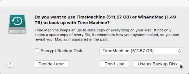 كيفية حفظ نسخة احتياطية لبياناتك على ماك باستعمال Time Machine