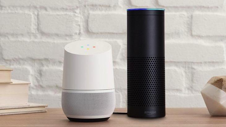 مكبر صوت ذكي : أمازون وجوجل