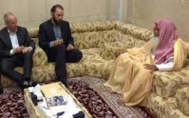 Pertemuan Syaikh Hudzaifi dengan Arnoud Van Doord