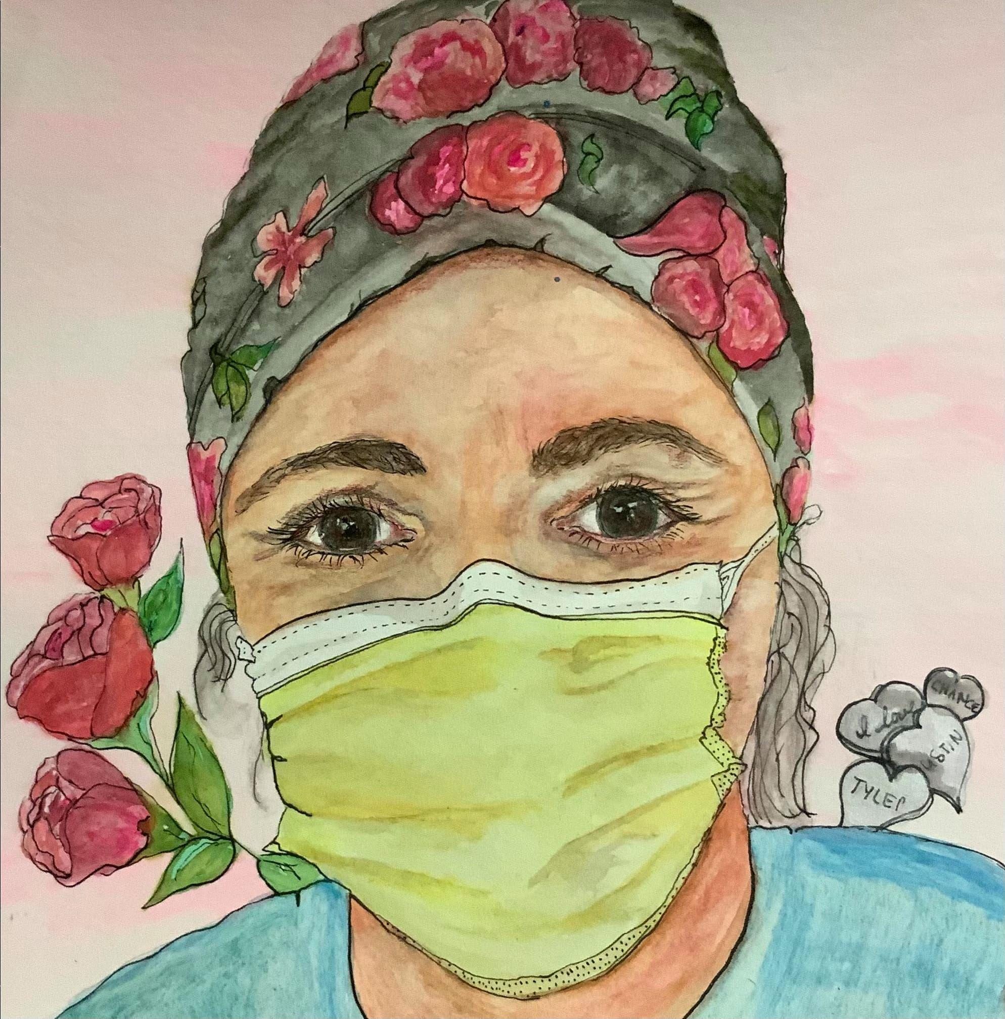 Karie Portrait for Healthcare Heroes