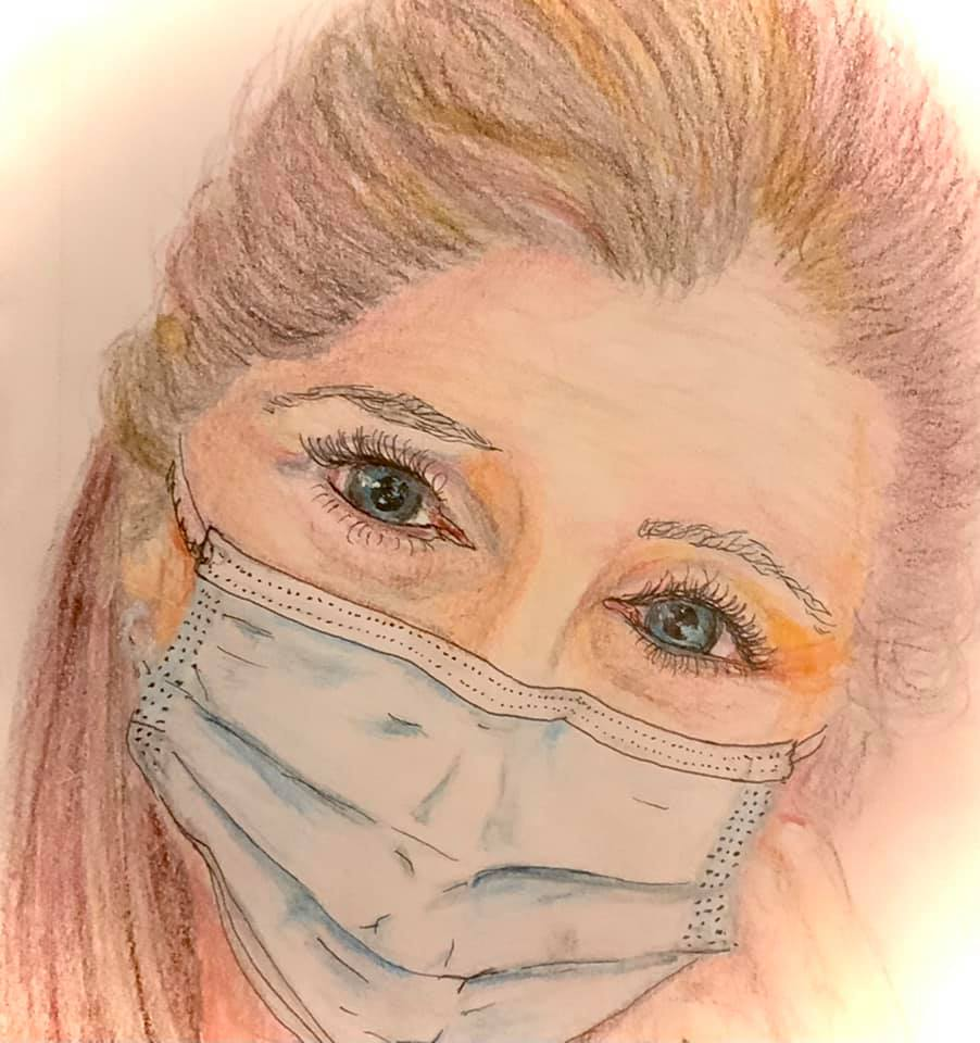 Karin Portrait for Healthcare Heroes