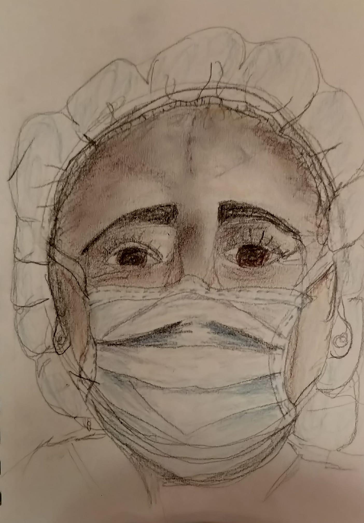 Leila Portrait for Healthcare Heroes