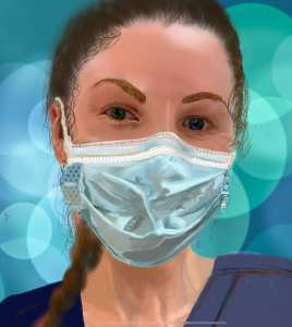 Megan Portrait for Healthcare Heroes